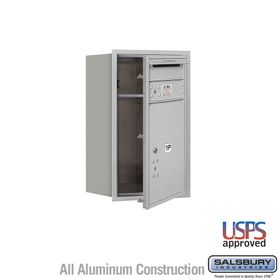 Salsbury 3707S-1PAFU 4C Mailboxes 1 Parcel Locker Front Loading