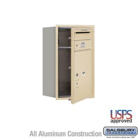 Salsbury 3707S-1PSFU 4C Mailboxes 1 Parcel Locker Front Loading