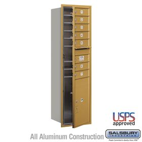 Salsbury 3715S-07GFU 4C Mailboxes 7 Tenant Doors Front Loading