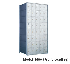 9 Doors High x 4 Doors (35 Tenants) 1600 Front-Load Private Distribution Mailbox