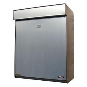 Allux Series Mailboxes Grandform in Black/Stainless color