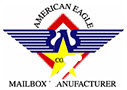 American Eagle 4B Horizontal Mailboxes