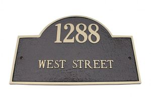 Address Plaques and Signs by Majestic