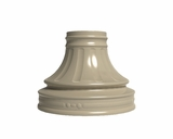 Traditional Column Pedestal Cover For Cluster Mailboxes - Short