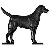 """Whitehall 30"""" Traditional Directions 30"""" BLACK LAB Weathervane for Roof or Garden"""