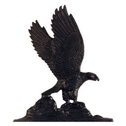 """Whitehall 30"""" Traditional Directions EAGLE Weathervane in Black for Roof or Garden"""