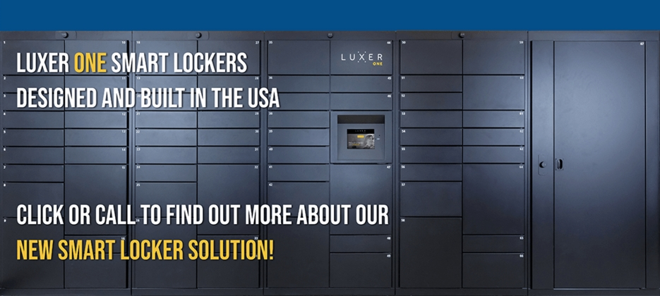 Luxer One Smart Lockers
