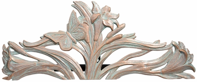 Whitehall Butterfly Hose Holder - Copper Verdi