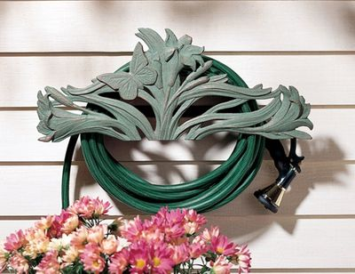 Whitehall Butterfly Hose Holder - French Bronze