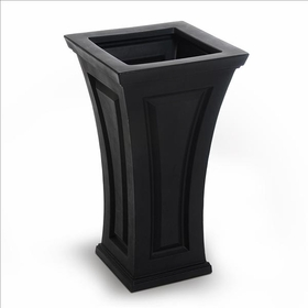 Cambridge Tall Planter - Black