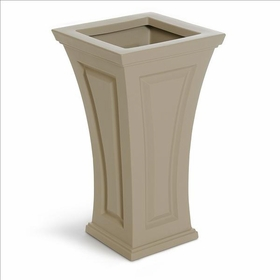 Cambridge Tall Planter - Clay
