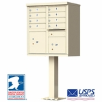 8 Door CBU Mailboxes