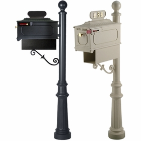 Century lmperial Mailboxes Systems with Newspaper Holder
