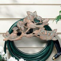 Whitehall Chickadee Hose Holder - Oil Rub Bronze