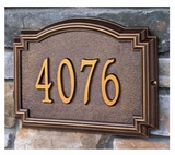 Whitehall Classic Address Plaques