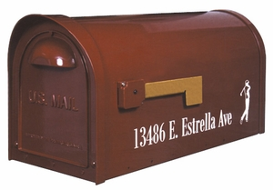 Classic Curbside Mailbox with Post Option