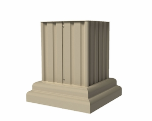Classic Decorative Wrap Fits 1570-13V and 1570-16V Cluster Mailboxes