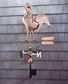 Whitehall Classic Directions Polished Copper Rooster Weathervane