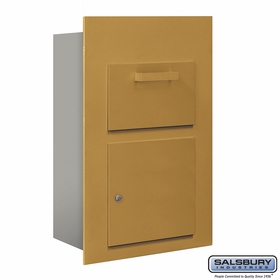 Salsbury 3600C5-GFU Collection Unit For 5 Door High 4B+ Mailbox