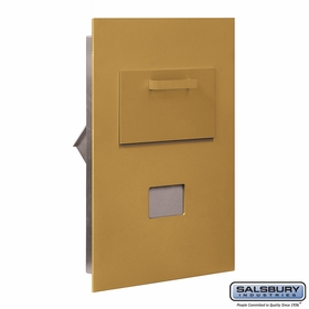 Salsbury 3600C5-GRP Collection Unit-For 5 Door High 4B+ Mailbox