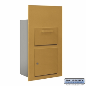 Salsbury 3600C6-GFP Collection Unit For 6 Door High 4B+ Mailbox