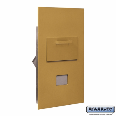 Salsbury 3600C6-GRU Collection Unit For 6 Door High 4B+ Mailbox