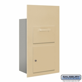 Salsbury 3600C6-SFP Collection Unit For 6 Door High 4B+ Mailbox
