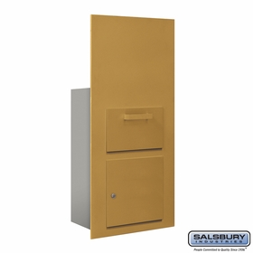 Salsbury 3600C7-GFP Collection Unit For 7 Door High 4B+ Mailbox