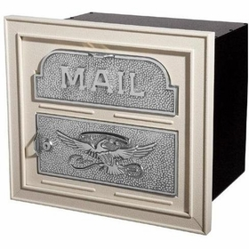 Column Insert Mailboxes with Satin Nickel Accents