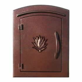 Manchester Locking Decorative Agave Column Mailboxes
