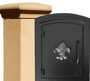 Stucco Locking Column Mailboxes