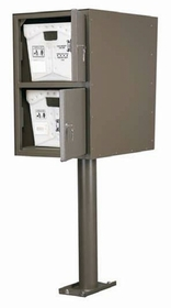 Custom Commercial Aluminum Collection Box Double Double (Rear Access)