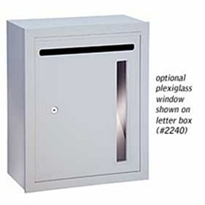 Salsbury 2273-LB Custom Plexiglass Window For Letter Box