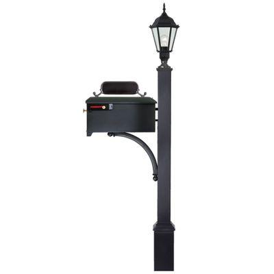 Decorative Mailbox and Lamp Post Combo # 5