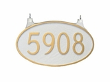 Double Sided Lawn & Garden Address Plaques