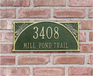 Dragonfly Standard Wall Plaque - Two Line
