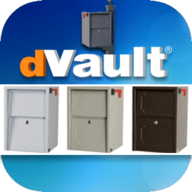 DVault Locking Mailboxes