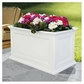 Fairfield Patio Planter 20in x 36in - White