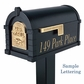 Signature Keystone Series Mailbox and Deluxe Post Packages