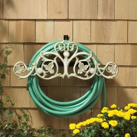 Whitehall Foliate Hose Holder - French Bronze
