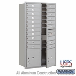 Salsbury Industries Front Loading 4C Horizontal Mailboxes