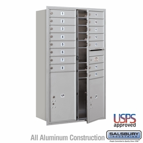 Front Loading Horizontal Mailboxes 15 to 16 Doors
