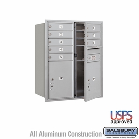 Front Loading Horizontal Mailboxes 7 to 8 Doors