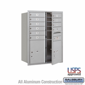 Front Loading Horizontal Mailboxes 9 to 10 Doors