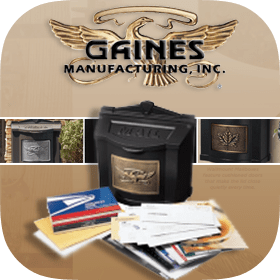 Gaines Manufacturing - Mailboxes & Address Plaques