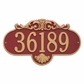 Grande Size Rochelle Wall Plaque - (1 or 2 lines)