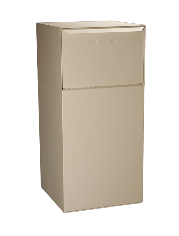 Rear Access Letter Box.Curbside Model Without Locking Letterbox