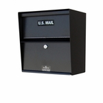 Horizontal Steel Wall Mount Letter Locker
