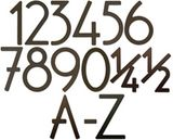 5 Inch Contemporary Numbers