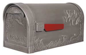 Humming Bird Curbside Mailbox with Post Option